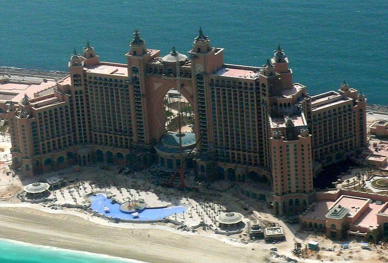 Atlantis dubai fire world activity for The hotel dubai