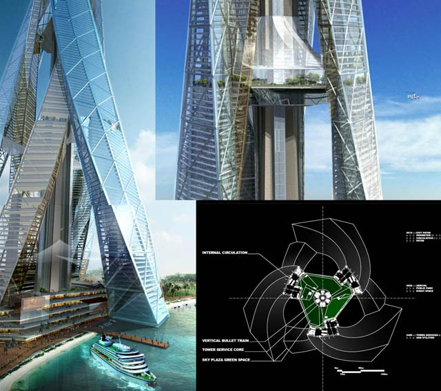 buildings in dubai. tallest uildings – with