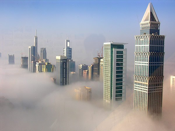 Dubai Skyscrapers Electricity Threat
