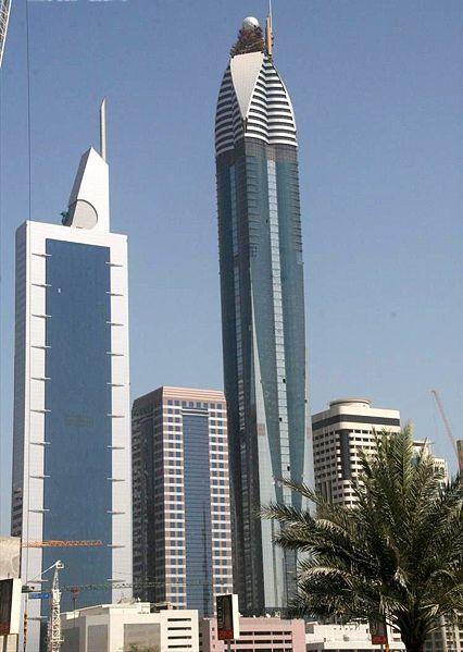 dubai city tower. The Rose Tower Dubai: World#39;s